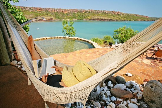 Faraway Bay: View from Lodge - rest, relax, read