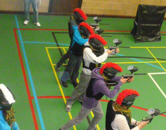 Shoot N Scoot Indoor Paintball: King's Hall Boarders Activity Day