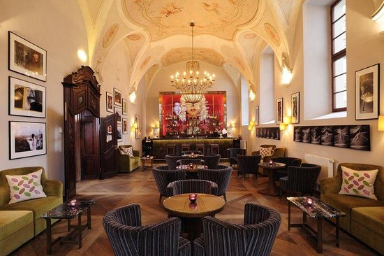 Augustine, a Luxury Collection Hotel, Prague : 1887 Bar