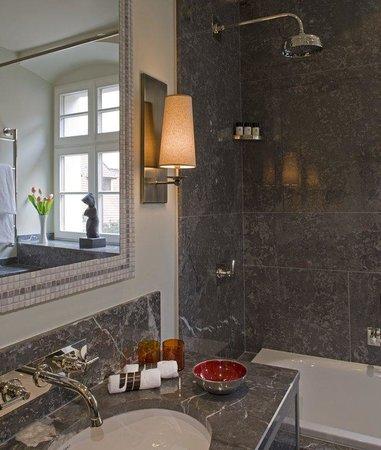 Augustine, a Luxury Collection Hotel, Prague : Bathroom Marble Detail
