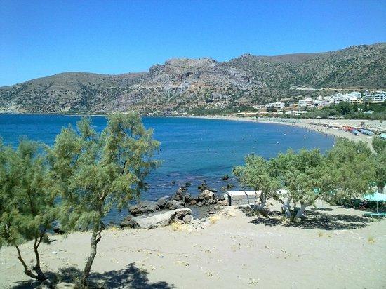 Aris Hotel: Spiaggia di Paleochora