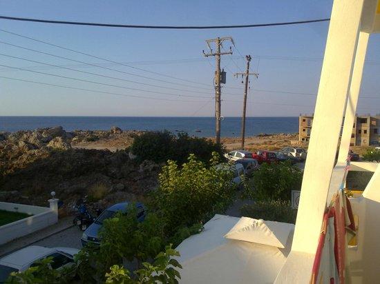 Aris Hotel: panorama dalla camera (Hotel Aris)