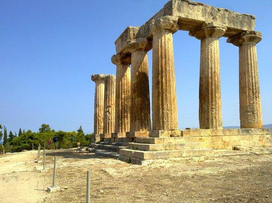 Aris Hotel: Corinthos (sulla via del ritorno)