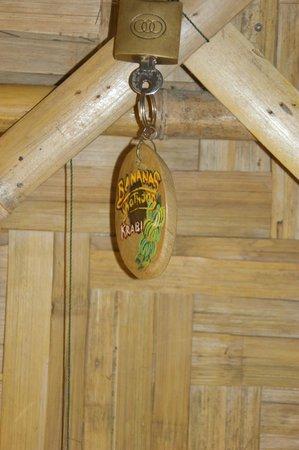 Bananas Bungalows: Liebevoll gestalteter Bungalow-Schlüssel
