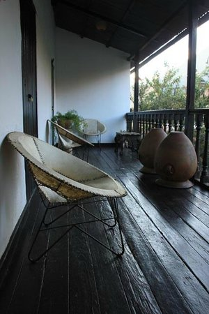 El Albergue Ollantaytambo: guest balcony