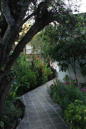 El Albergue Ollantaytambo: hotel garden