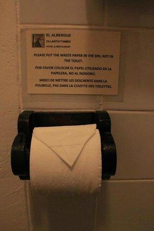 El Albergue Ollantaytambo : bathroom