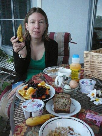 Da Third House B&B: lovingly prepared breakfast