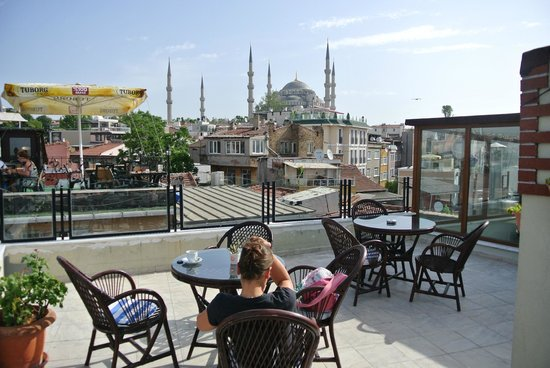 Artefes Hotel Istanbul: Dachterrasse