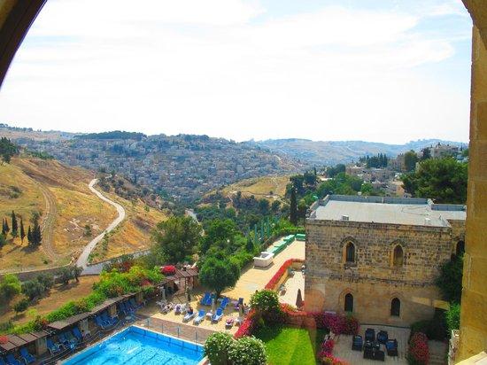 Mount Zion Hotel: Vue
