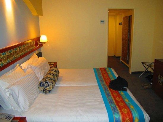 Mount Zion Hotel: La chambre