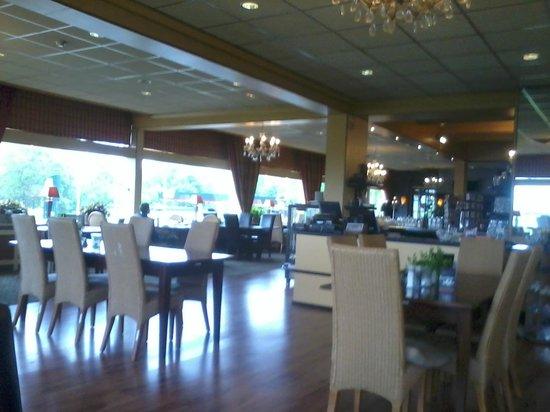 Haje Hotel Heerenveen: Het Restaurant.