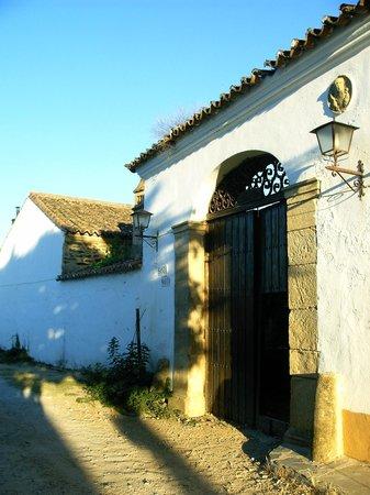 Finca Santa Marta: entrance
