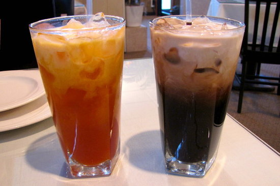 Thai Iced Tea and Thai Iced Coffee - Picture of Thai X ...