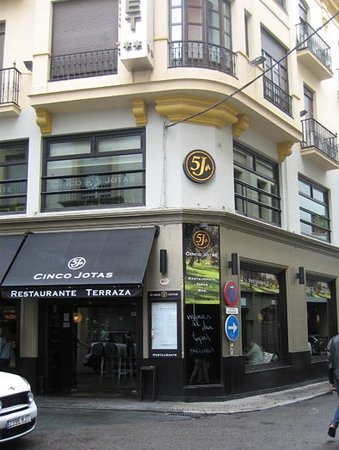 Restaurante Cinco Jotas: 外観