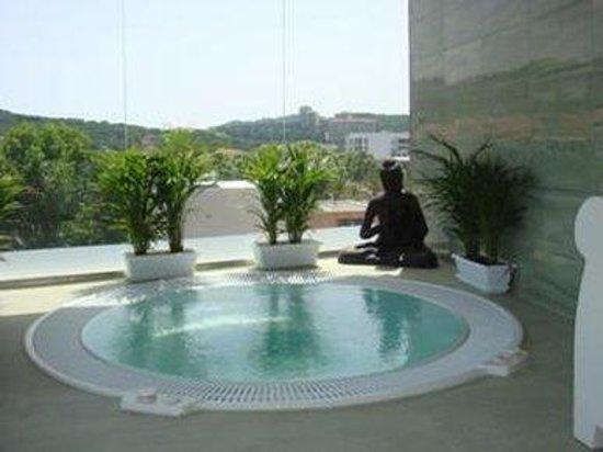 Pinar del Mar Hotel : JACUZZI