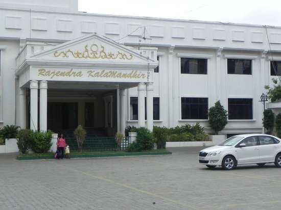 The Viceroy Comforts: Marriage hall in front of the hotel