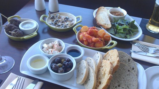 "Aspect Bar & Bistro: Lovely lunchtime ""tapas"" style food"