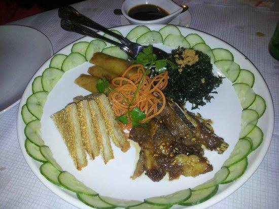 Blue Moon Chinese Restaurant: starter