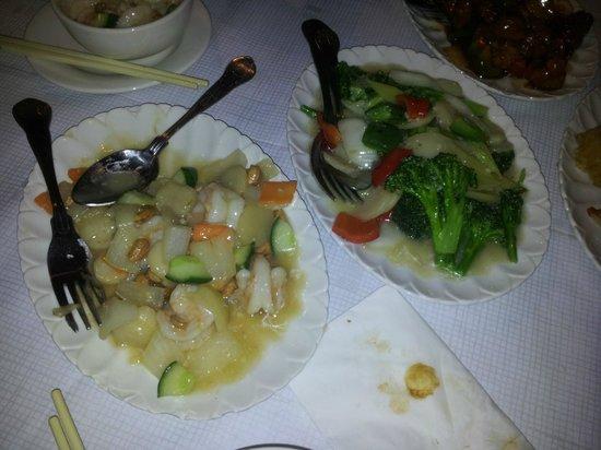 Blue Moon Chinese Restaurant: mains