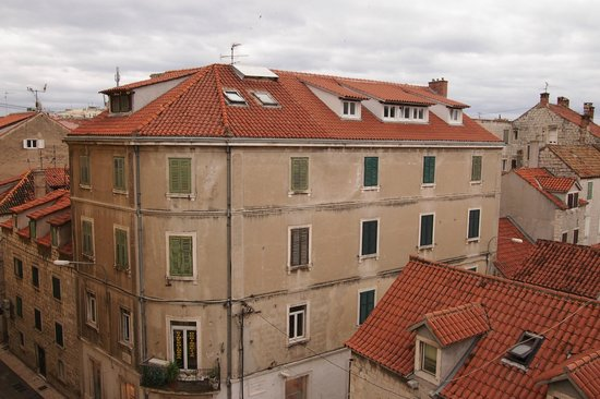 Apartments Tin: A view from the balcony