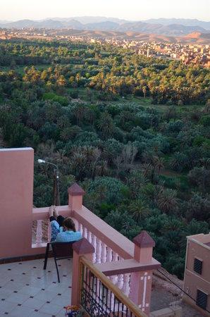 Tissili Guest House : Vue Sur La vally Todra