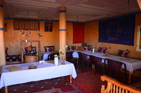 Tissili Guest House : Salon Amanger