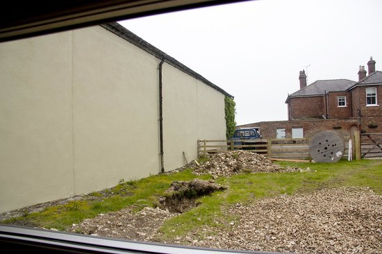 Greenwick Farm: View out of the window on the right