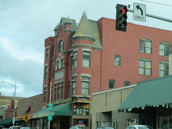 Butte Trolley Tour : architecture uptown
