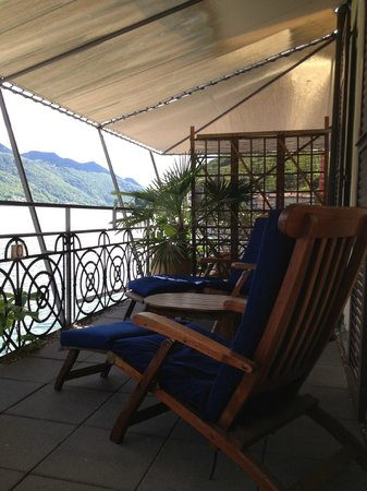Art Deco Hotel Dellago: room terrace