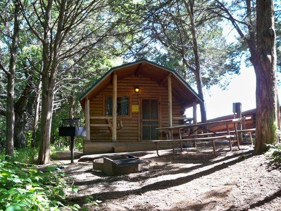 El Reno West KOA : Cabin