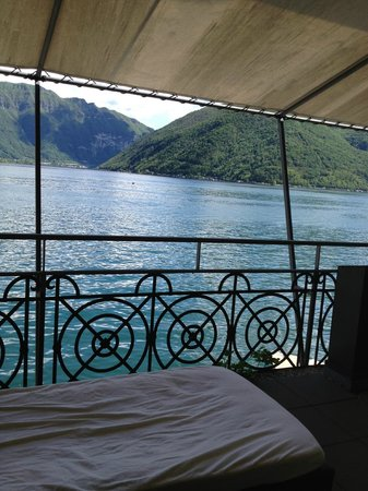 Dellago: view from the bed room