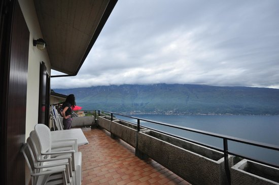Hotel la Rotonda: widok z tarasu