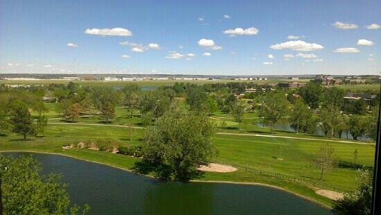 Hilton Denver Inverness: Gorgeous view from 4073