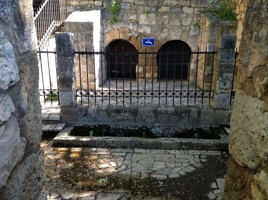 Church of San Juan Bautista, Banos de Cerrato: The Well