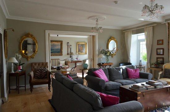 The Quay House: One of the sitting rooms