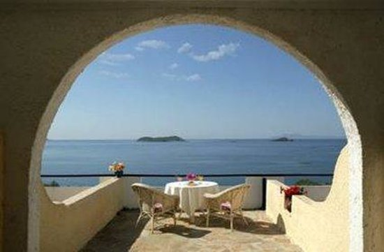 Camping Andros : Terrace