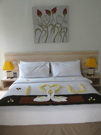 Jas Boutique Villas: Bed
