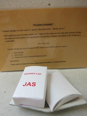 Jas Boutique Villas: Environmental friendly