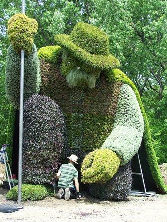 Jardin japonais au printemps bild von montreal botanical for Artistes de jardin