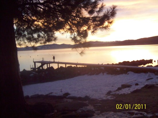 Tahoe Sands Resort: view