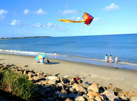 Island Manor Resort : Block Island Beach