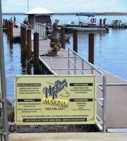 MarDon Resort : Marina and boat launch