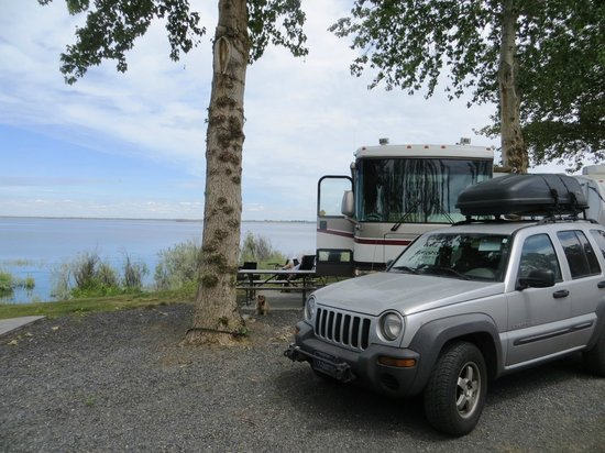 MarDon Resort : View from our full hook-up RV site