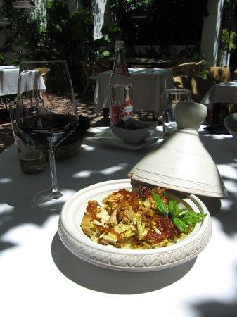 Restaurante La Boca: My delicious chicken dish