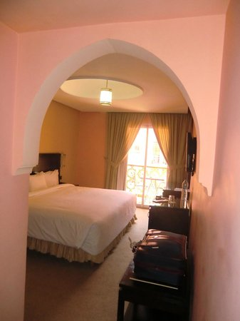 Hotel Almas : Een van de slaapkamers