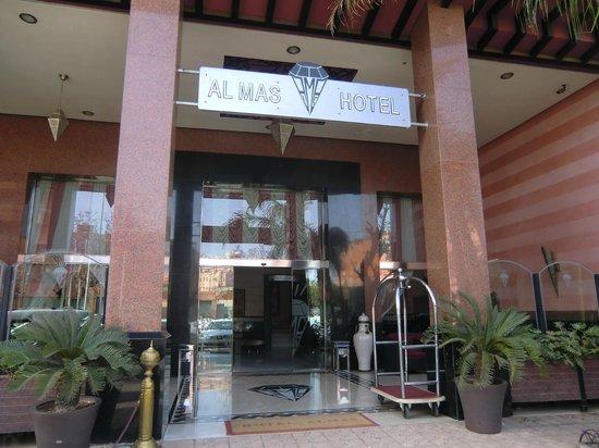 Hotel Almas : De entree van het hotel
