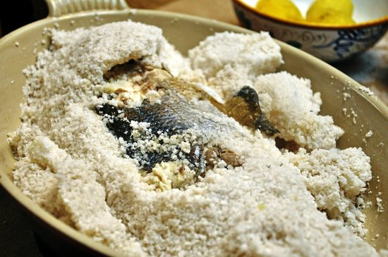 Konoba Ferao: Salted fish
