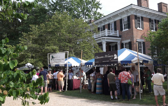 Lee Hall Mansion: Each June a wine festival is held at Lee Hall