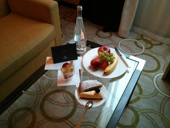 Hilton Prague Old Town: Welcome gift